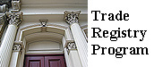 Learn about our Trade Registry Program