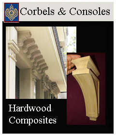 corbels and consoles for cabinetry