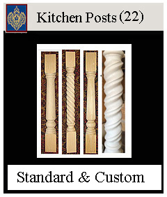 Kitchen Posts custom and standard models