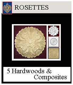 click for rosettes round and square