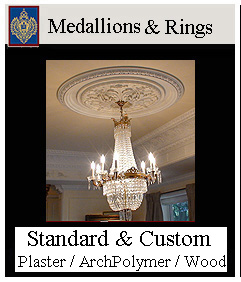 medallions and ceiling rings