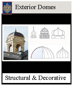 exterior domes