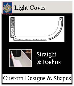 light coves staight and radius