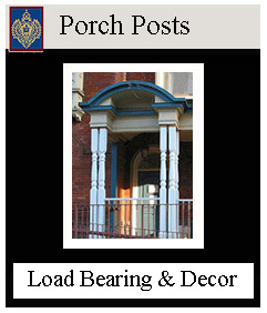 custom and standard porch posts