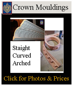 click for straight and curved crown mouldings