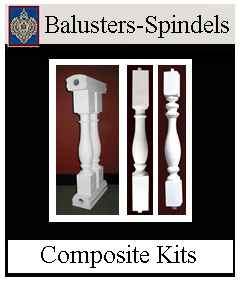 Non Wood ArchPolymer Balusters and Spindles