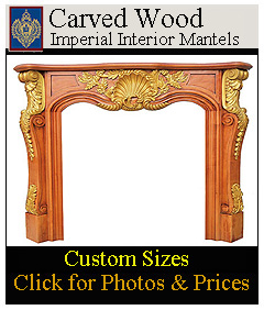 hand carved mantels