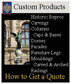 Imperial is your major source for custom architectural products